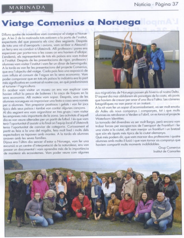 Trip to Norway on our school magazine