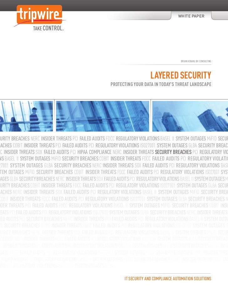 Layered Security: Protecting Your Data in Today's Threat Landscape
