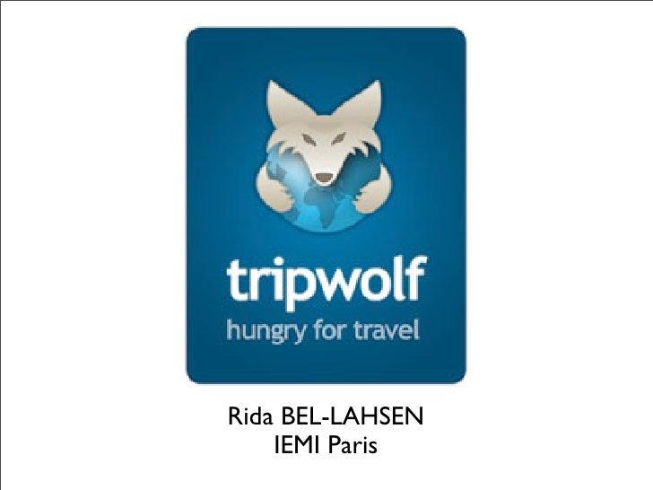 Rida BEL-LAHSEN     IEMI Paris