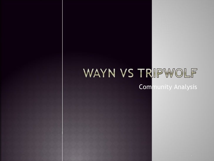 Tripwolf Vs Wayn