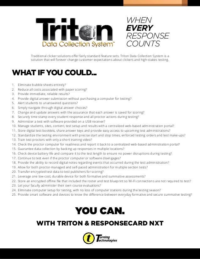 Triton   what if