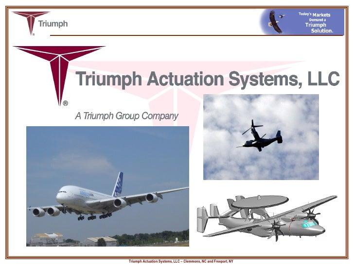 Triumph Actuation Systems Inc