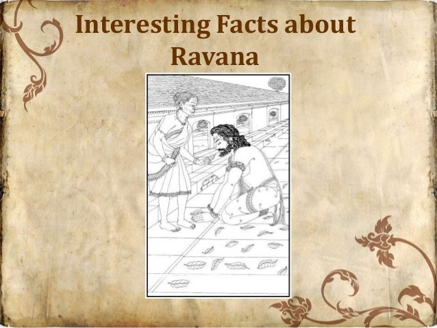 Interesting Facts about        Ravana