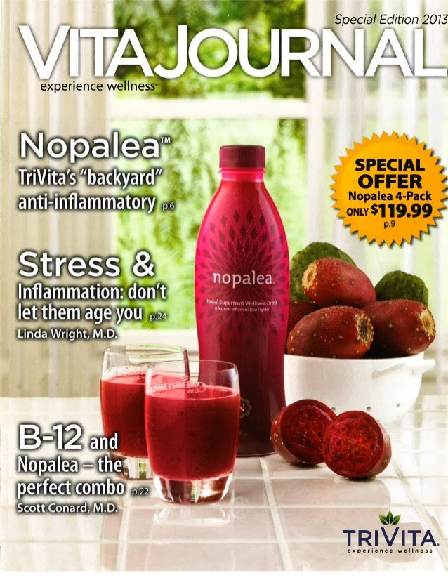 Trivita vita journal_2013 special edition - nopalea