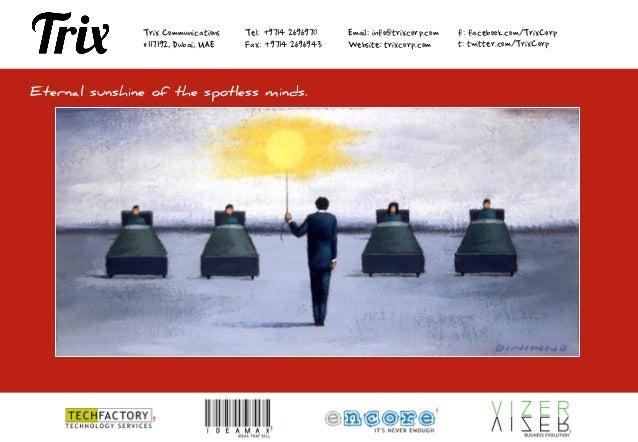 Trix Corp. Portfolio 2012