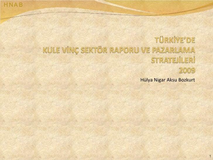 Hülya Nigar Aksu Bozkurt