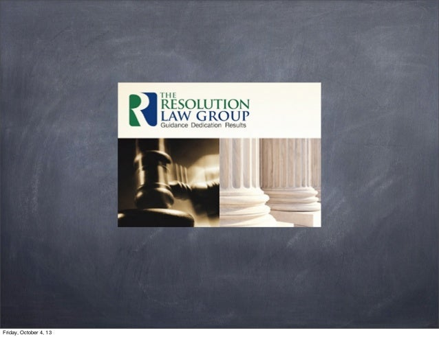The Resolution Law Group