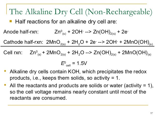 how to find e cell from half reactions