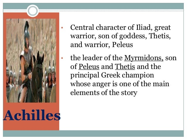 characteristics of war in the iliad Get an answer for 'describe achilles' main characteristics in homer's iliad' and find homework help for other iliad questions at enotes.