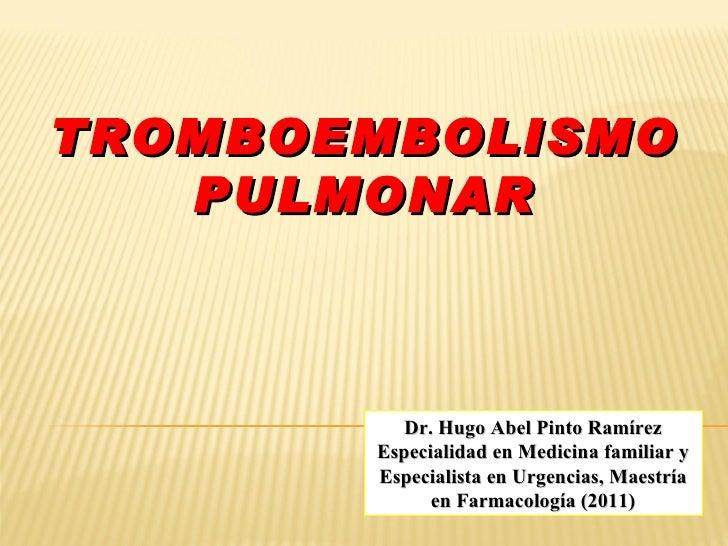 Tromboembolia pulmonar (2)
