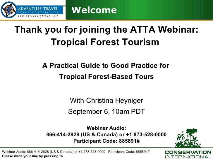 Tropical Forest Good Practice Guidelines