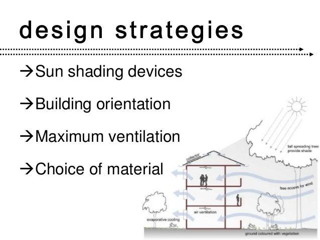 Tropical architecture aadi - Building orientation to optimize sun exposure ...