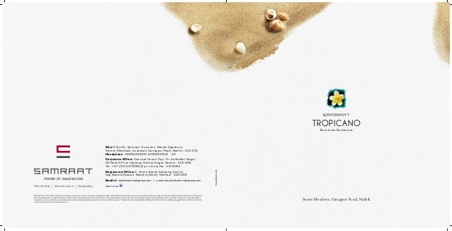 Samraat Tropicano Brochure