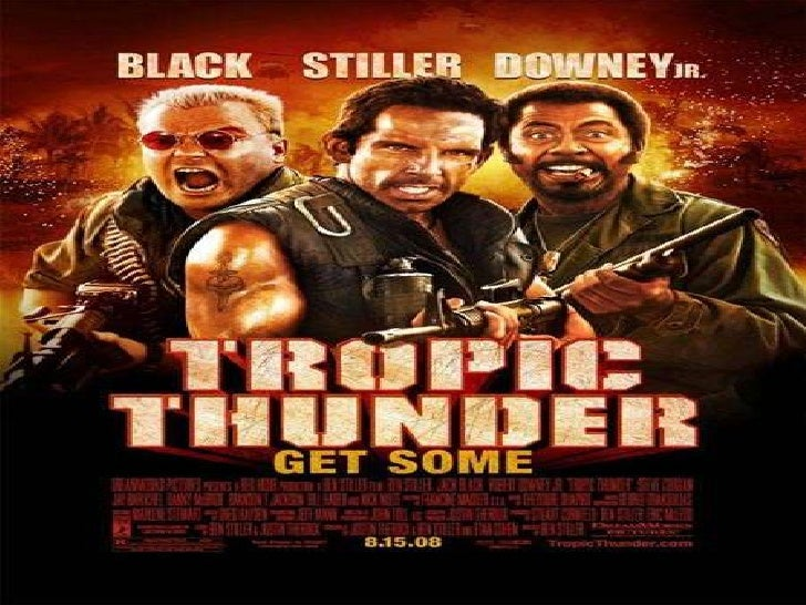 Tropic Thunder is a movie about five guys trying to make a movie. They are all famous but act very retarded. The director ...