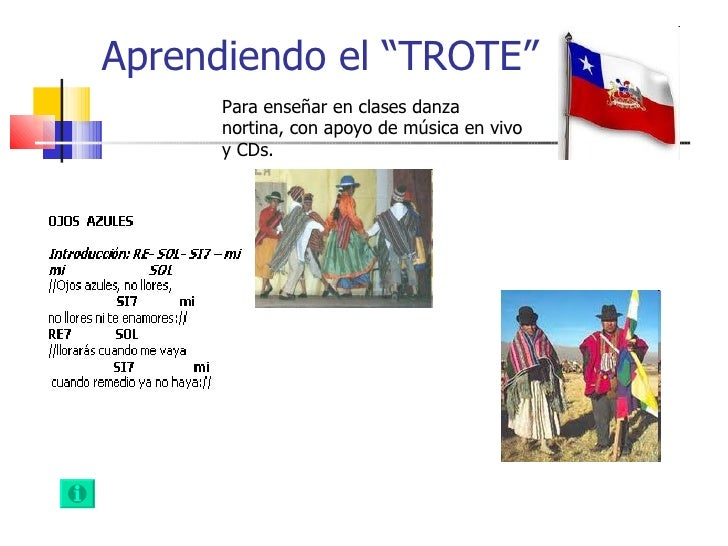 Trote, danza nortina de chile