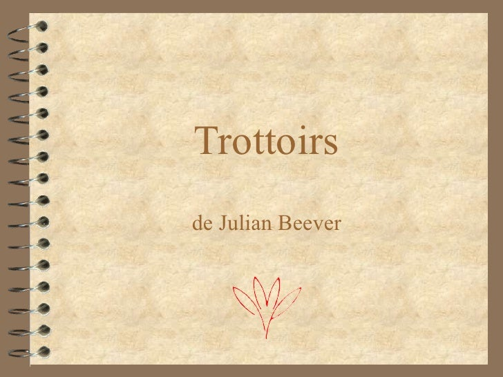 Trottoirs de Julian Beever