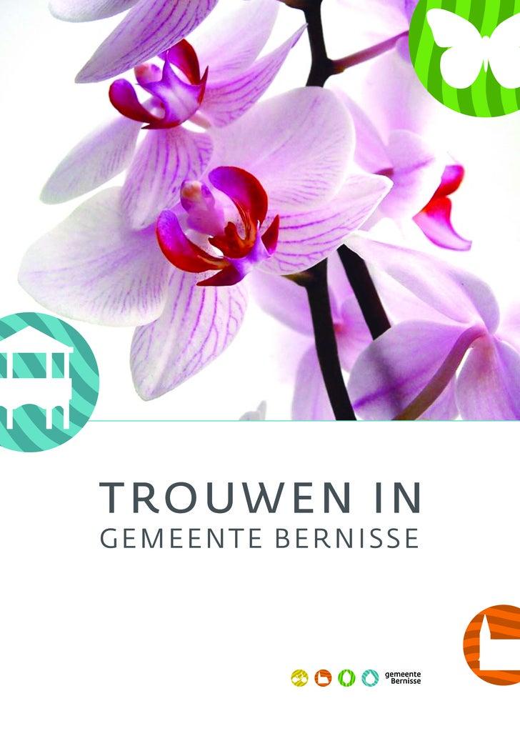 Brochure Trouwen in Bernisse