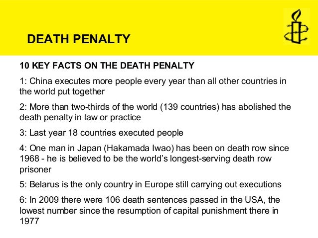 capital punishment must be put to death Capital punishment capital punishment, or the death penalty, is an institutionalized practice designed to result in deliberately executing persons in response to actual or supposed misconduct and following an authorized, rule-governed process to conclude that the person is responsible for violating norms that warrant execution.