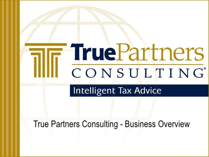 True Partners Consulting - Business Overview