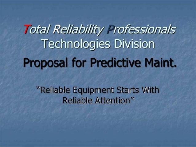 TRP Presentation