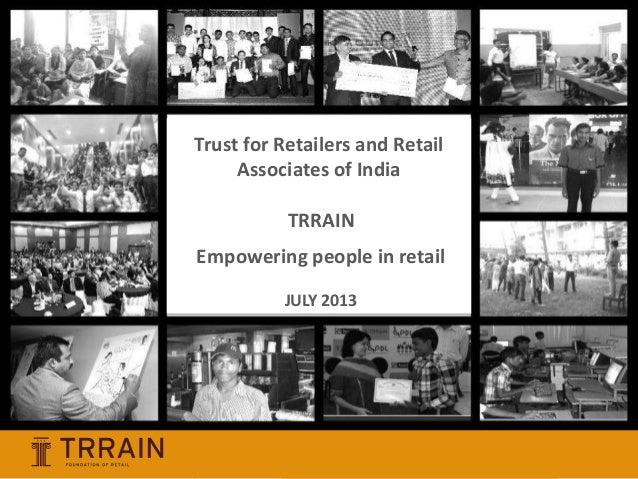 TRRAIN : Company Presentation