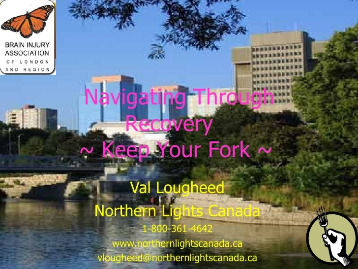 Val Lougheed Northern Lights Canada 1-800-361-4642 www.northernlightscanada.ca [email_address]   Navigating Through Recove...