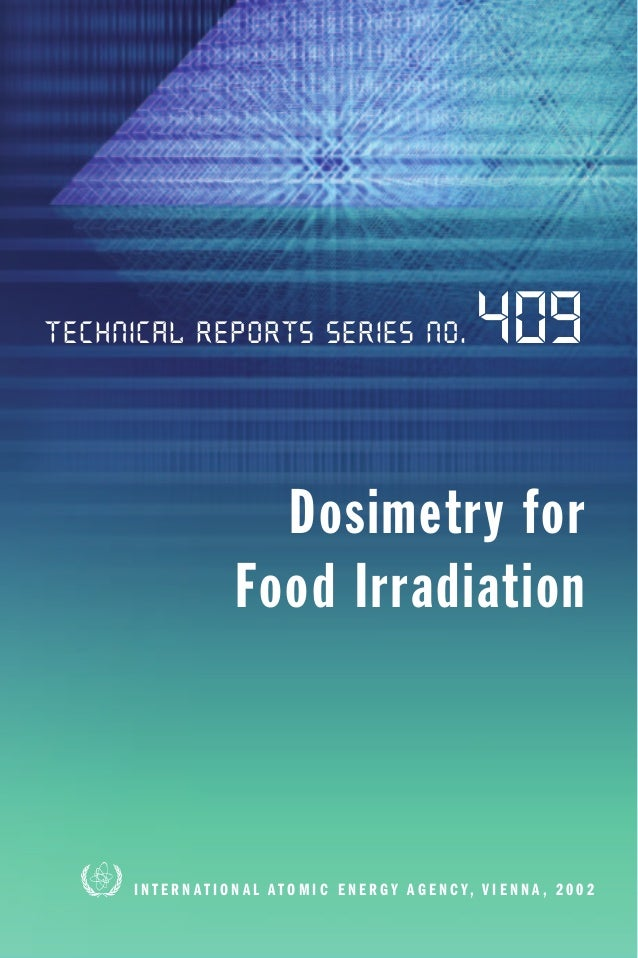 Technical Reports Series No.                                       409                         Dosimetry for              ...