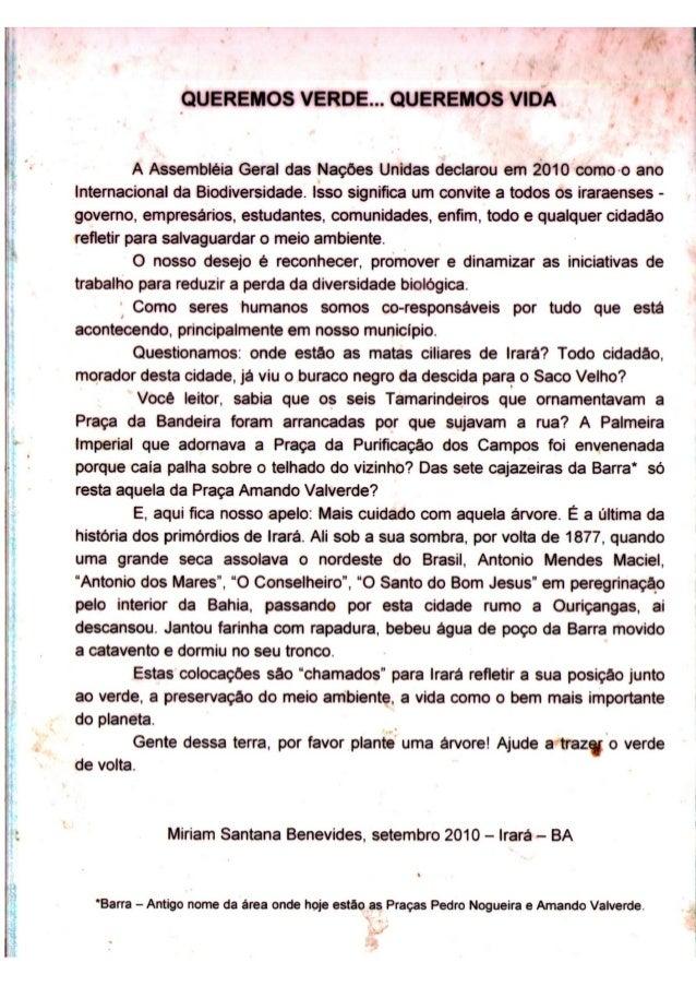 Três Textos em Defesa da Sétima Cajazeira