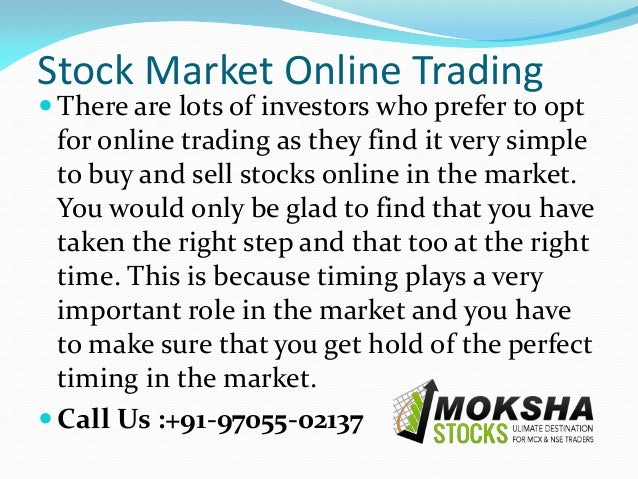 Options trading training in india