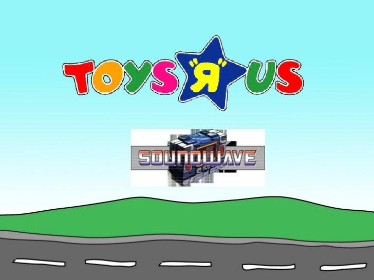 "Toys ""R"" Us Marketing Plan"
