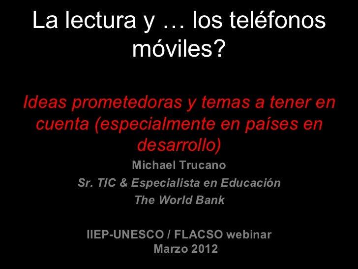 Trucano  -iiep-unesco-flacso_webinar_-_español