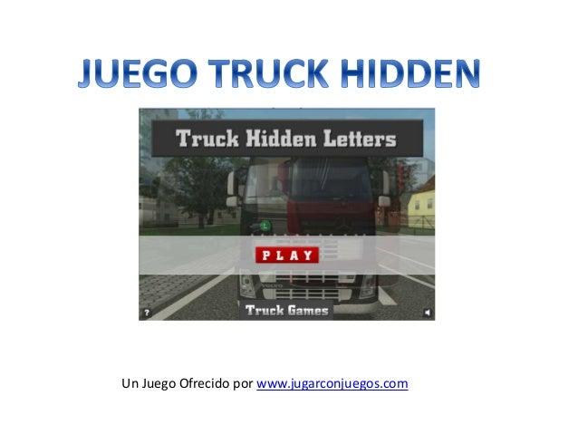Truck Hidden Juego