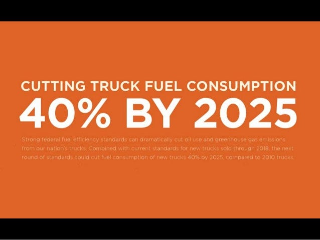 Cutting Truck Fuel Consumption 40% by 2025
