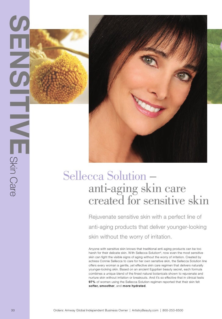 Connie Sellecca beauty products