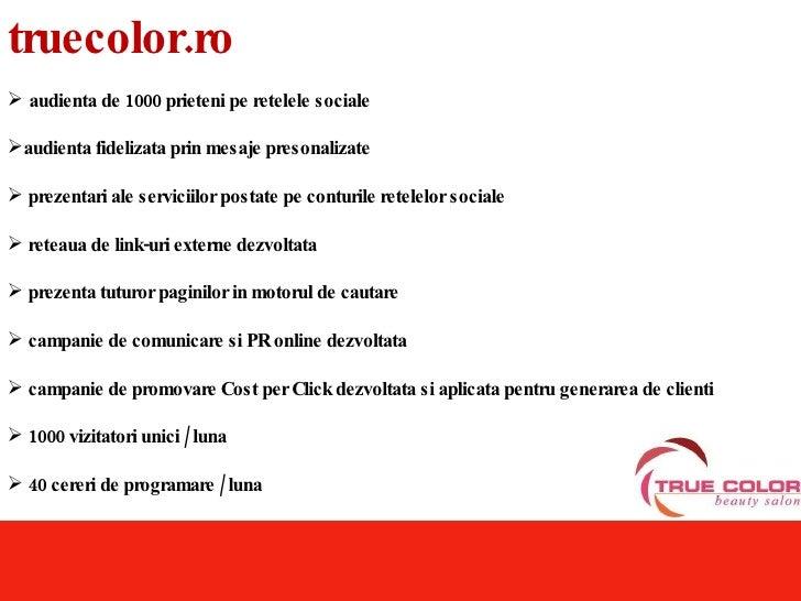 TrueColor.Ro - Salon de Infrumusetare