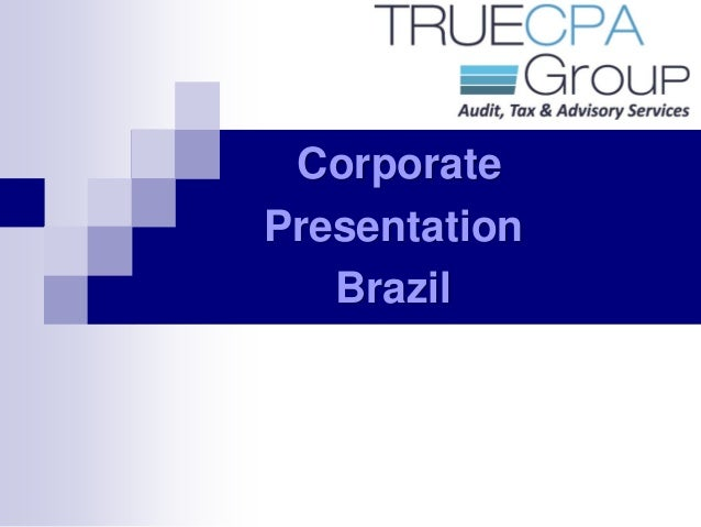 TRUECPA Group - Corporate Presentation
