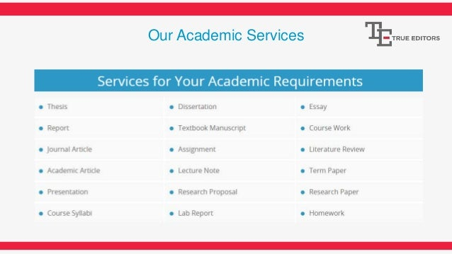 Academic proofreading service uk