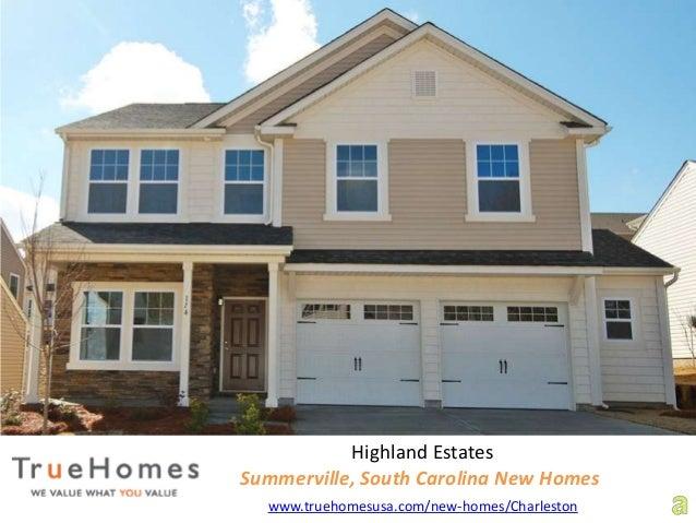 Highland Estates Summerville, South Carolina New Homes www.truehomesusa.com/new-homes/Charleston