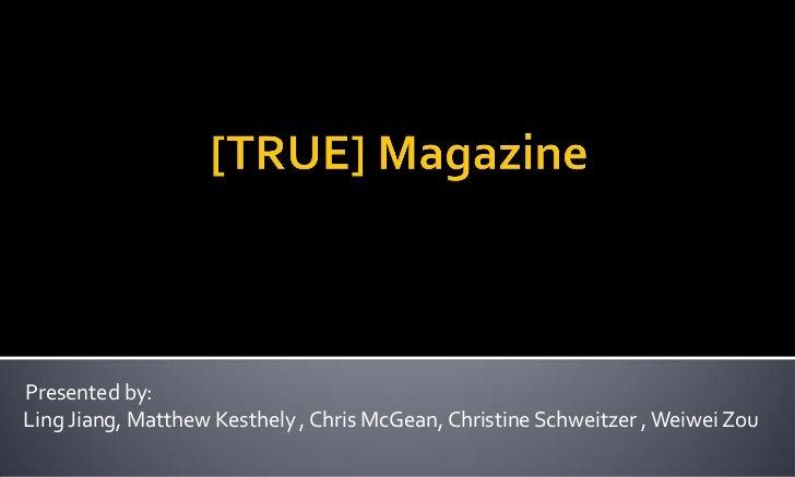 True Magazine