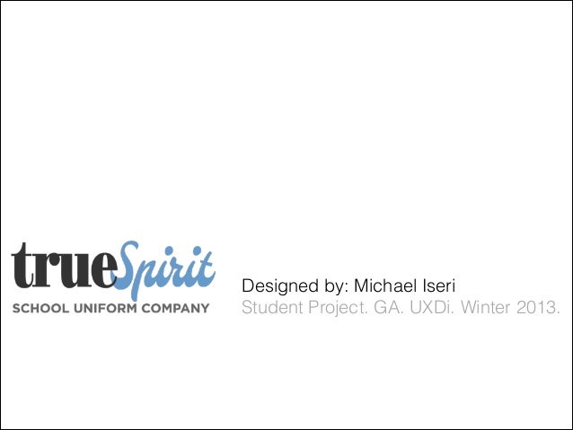 Project 2 True Spirit