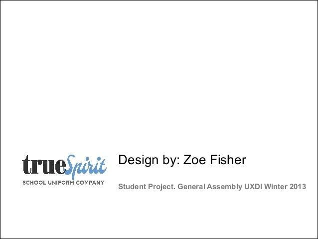 Project 2: True Spirit E-Commere Website
