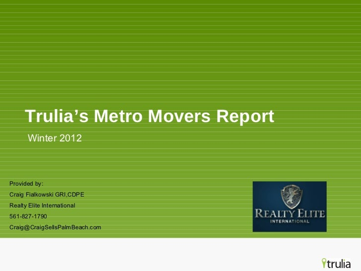Trulia movers presentation