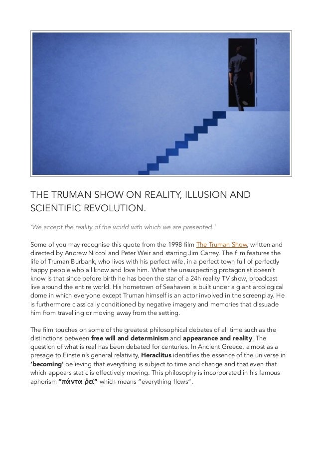 the truman show at EssayPedia.com