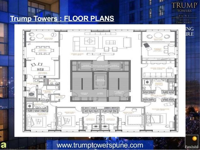 Park place floor plans corner flat trump towers flats and for Park place floor plans