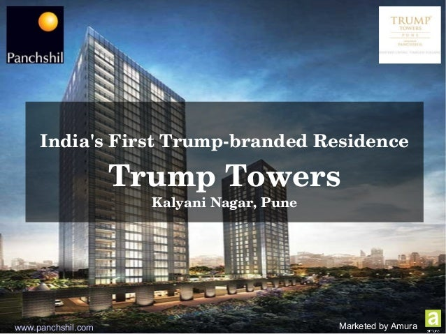 Trump Towers Apartments In Kalyani Nagar Pune