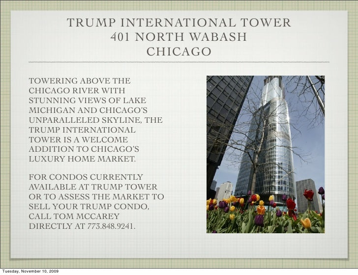 Trump International Tower Chicago - Luxury Condo Homes for Sale