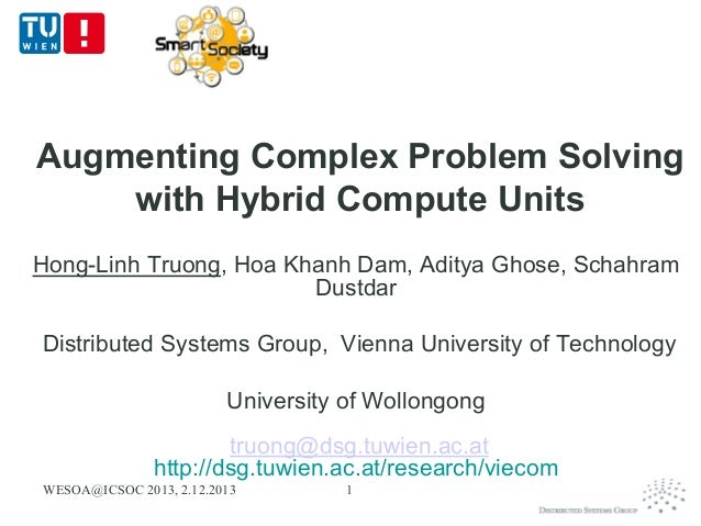 Augmenting Complex Problem Solving with Hybrid Compute Units