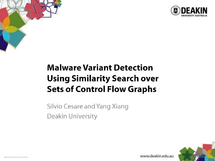Malware Variant Detection Using Similarity Search over Sets of Control Flow Graphs