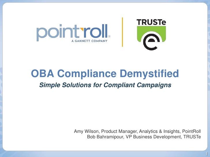OBA Compliance Demystified: Easy Solutions for Compliant Campaigns