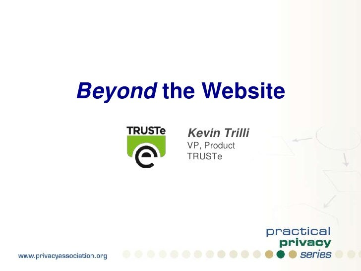 Beyond the Website: Privacy on Web 2.0 Platforms